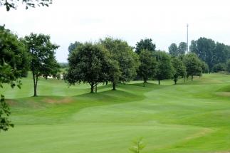 hpr-foto-mg: Golfclub Wildenrath - Blick auf die Fairways